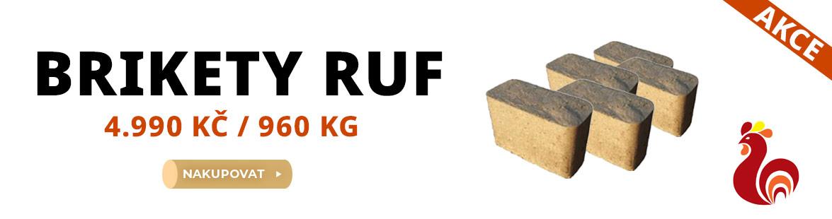 Brikety RUF v akci