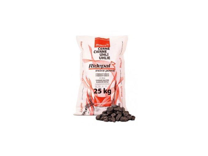Černé uhlí ořech 1 pro klasická kamna