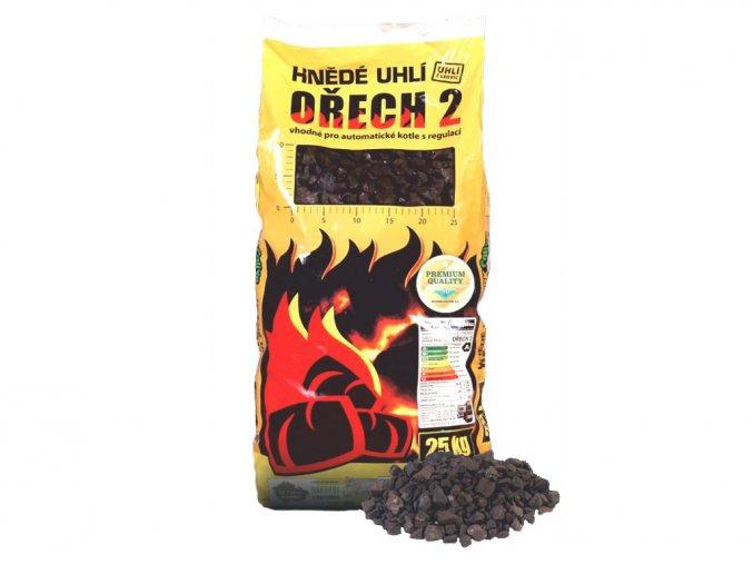 Kohutovy paliva Hnede pytlovane uhli orech 2
