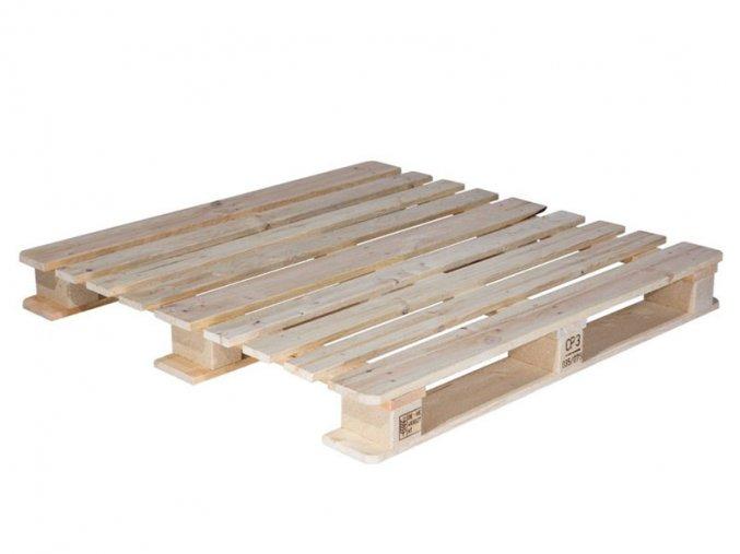 Zálohovaná paleta rozměr 120x100