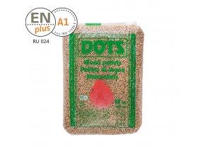 Dřevěné certifikované pelety DOTS 6 mm