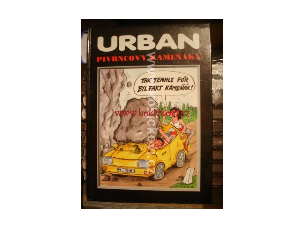 Petr Urban Kreslene Vtipy Pivrncovy Kamenaky Antikvariat
