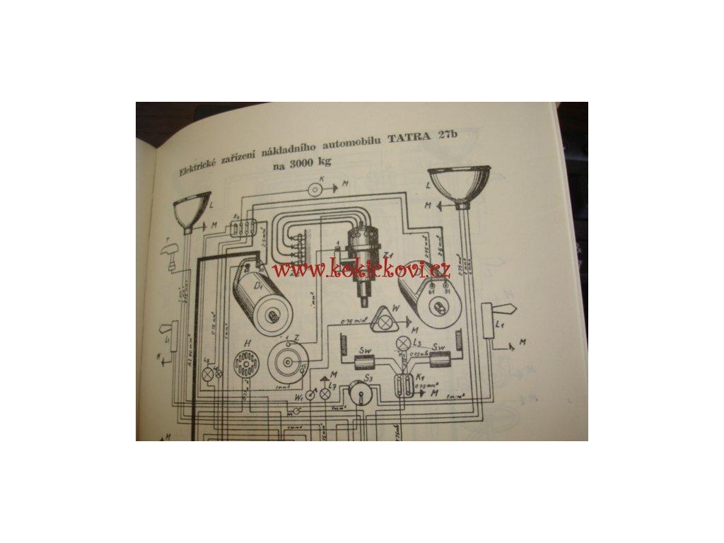 Elektrotechnika Pro Ridice 1948 Uvnitr Schemata Na Tatra 27b