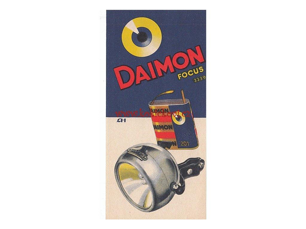 Reklamni Uctenka Daimon Battery Leo Heilbrunn Rozmery 7 5 16 Cm