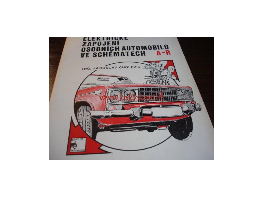 Elektricke Zapojeni Osobnich Automobilu Ve Schematech 1979 Dil