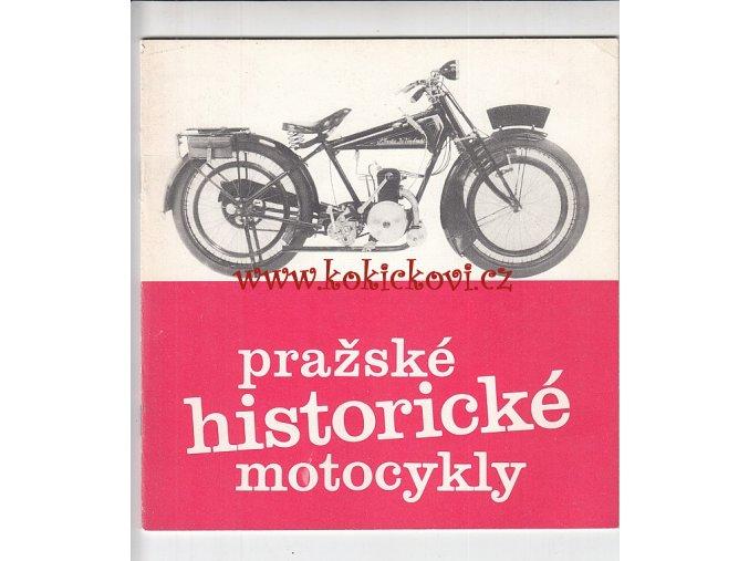 OGAR, JAWA ATD. - PRAŽSKÉ HISTORICKÉ MOTOCYKLY 1987