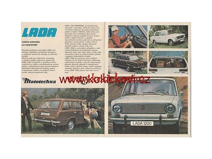 LADA 1200 1300 1500 PROSPEKT MOTOTECHNA