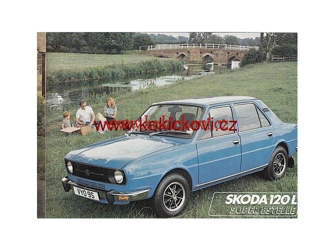 ŠKODA 105 L 120 L LS PROSPEKT 8 STRAN