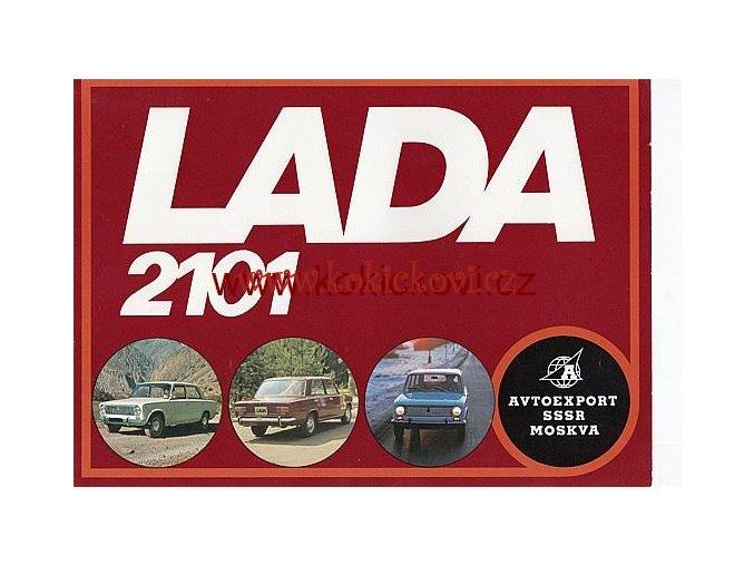 LADA 2101 AVTOEXPORT 8 STR PROSPEKT > PLAKÁT