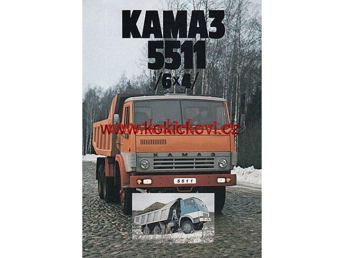 NÁKLADNÍ AUTOMOBIL KAMAZ 5511 6X4 AVTOEXPORT MOSKVA PROSPEKT