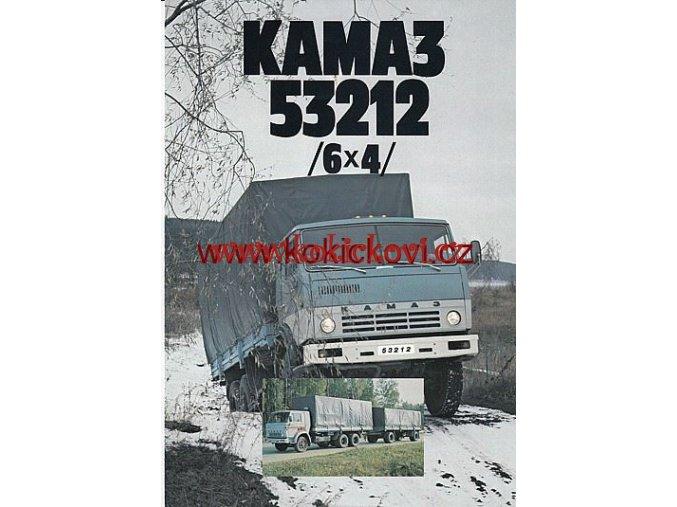 NÁKLADNÍ AUTOMOBIL KAMAZ 53212 6X4 AVTOEXPORT MOSKVA PROSPEKT