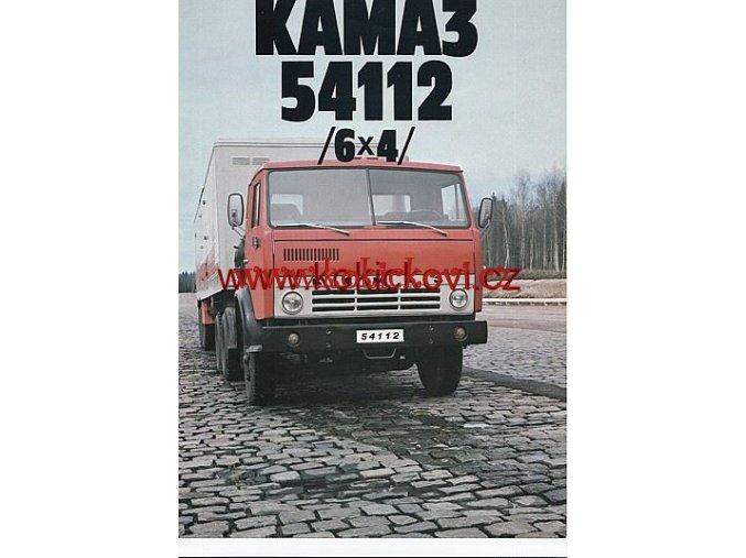 NÁKLADNÍ AUTOMOBIL KAMAZ 54112 6X4 AVTOEXPORT MOSKVA PROSPEKT