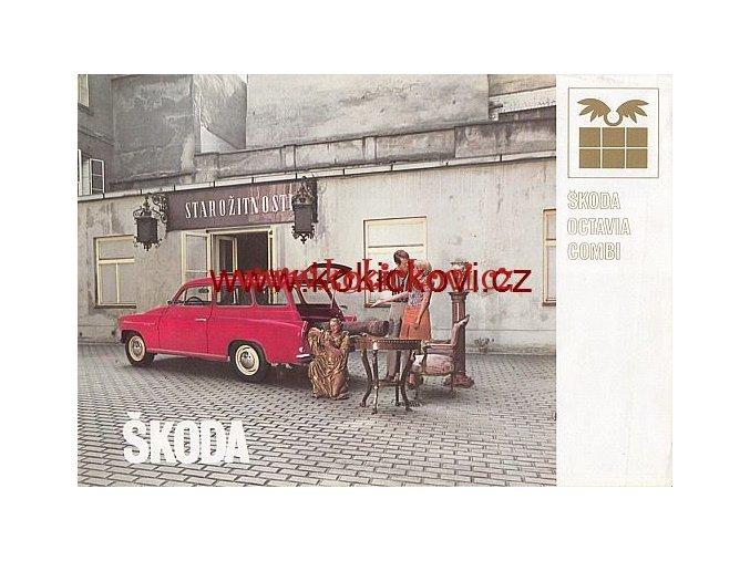 ŠKODA OCTAVIA COMBI 1968 FRANCOUZSKY A4