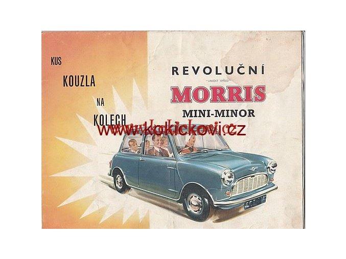 MORRIS MINOR 1959 - V ČEŠTINĚ TIŠTĚNO V ANGLII