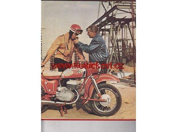 MOTOR JAHR 1962 NAPŘ. WARTBURG BARKAS  NĚMECKY