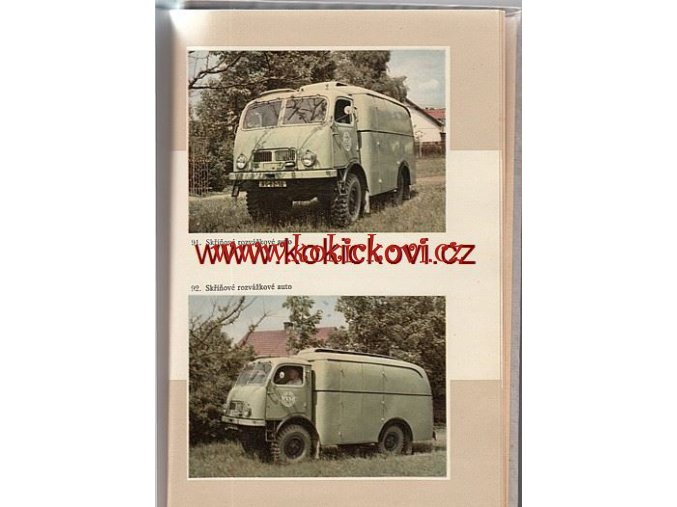 PEKAŘSKÁ PŘÍRUČKA KATALOG 1958 TATRA 805 PĚČIVO CHLEBA
