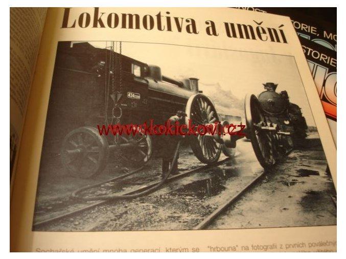 ČASOPIS ŽELEZNICE SOUČASNOST HISTORIE KOMPL. ROČNÍK 1993