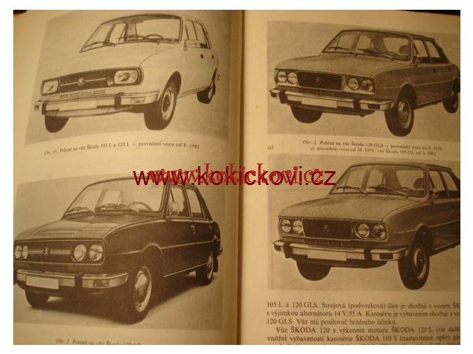 Údržba a opravy automobilů Škoda 105 S, 105 L, 105 GL, 120, 120