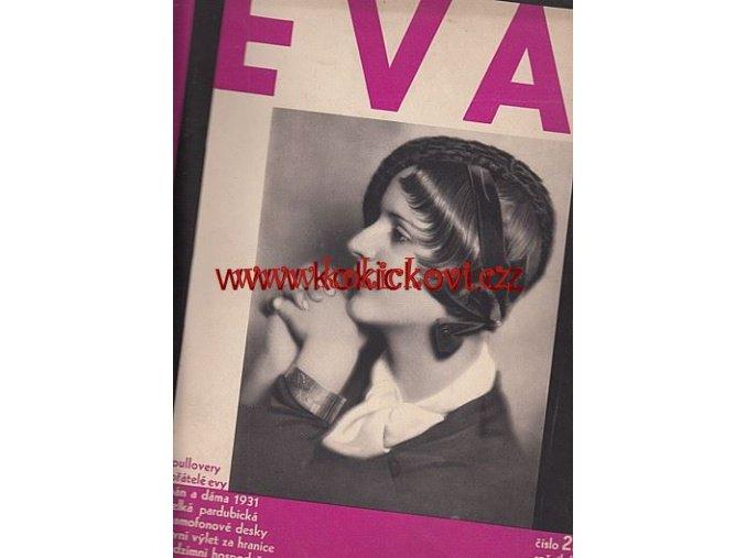 ČASOPIS EVA 3. ROČNÍK Č. 22 /1931