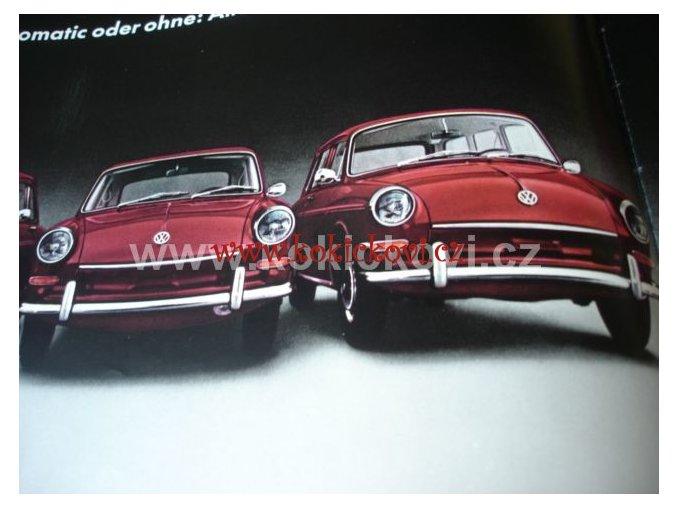 VOLKSWAGEN VW 1600 L 1600TL BAREVNÝ PROSPEKT