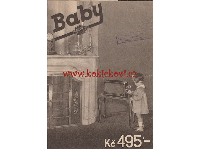 Mikrofona MK102 BABY 1936 PROSPEKT