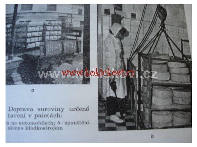 VÝROBA TAVENÝCH SÝRŮ NÁKLAD POUZE 800KS 1964