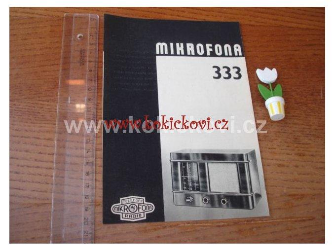 MIKROFONA 333 RADIO PROSPEKT
