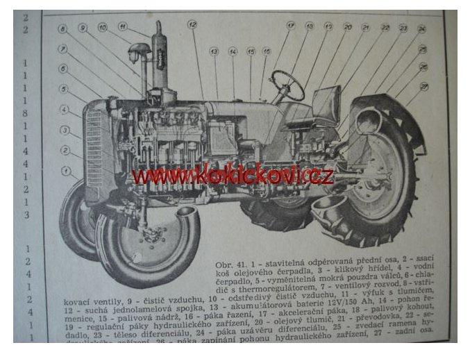 Demontáž a montáž traktoru Zetor Super kolový a pásový