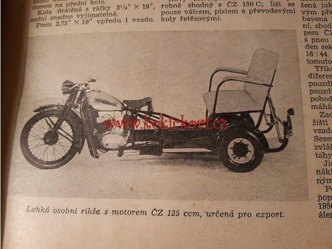 2. ROČ. ČASOPISU MOTOCYKL 1950