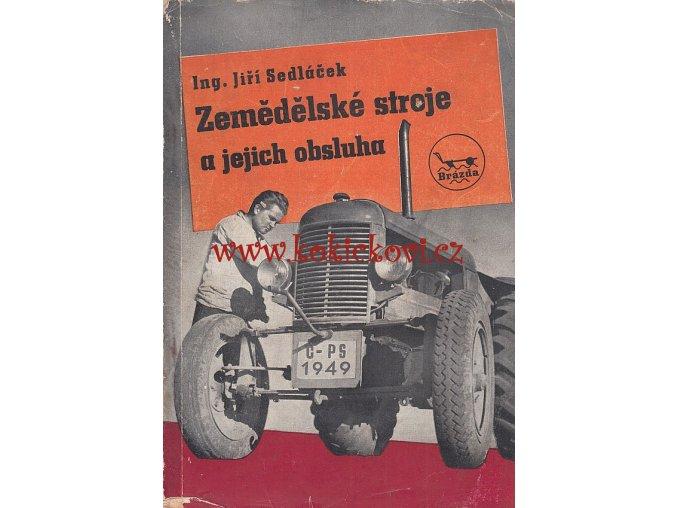 ZEMĚDĚLSKÉ STROJE - MLÁTIČKY LISY 1949
