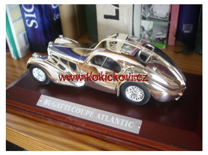 Bugatti Coupe Atlantic - SILVER CARS - Atlas