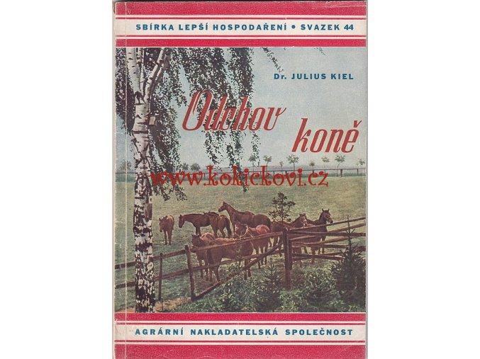 ODCHOV KONĚ - PRAHA 1943