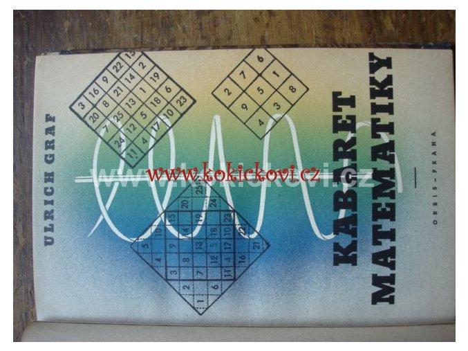 KABARET MATEMATIKY - U. GRAF ORBIS 1943