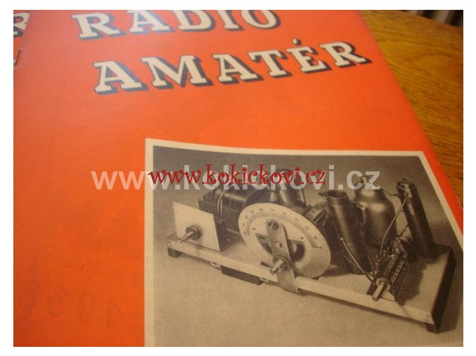 RADIOAMATÉR ROČNÍK 1938 KOMPLET 12 ČÍSEL