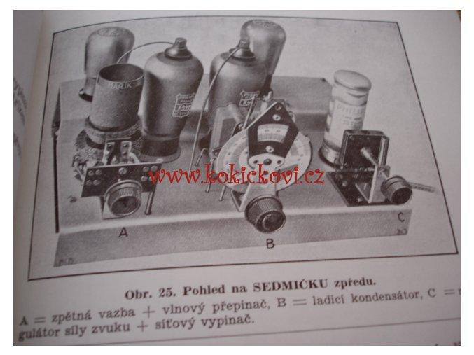 SEDMIČKA PHILIPS 1933 ČS RADIOKLUB