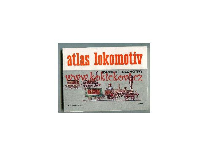 ATLAS LOKOMOTIV - HISTORICKÉ LOKOMOTIVY 1981