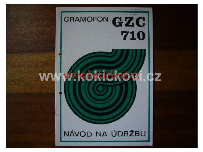 GRAMOFON GZC 710