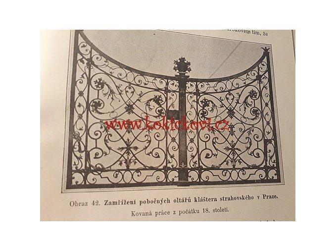 Práce uměleckého zámečníka a kováře 1897 (Od století jedenáctého až na naší dobu)