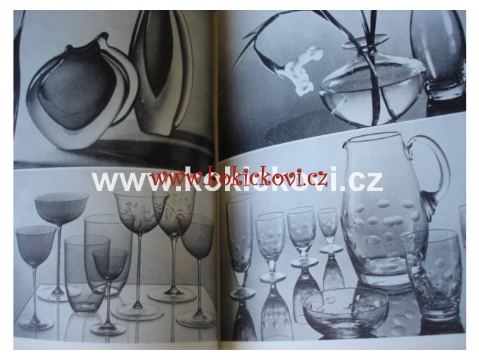 Vybíráme si sklo a keramiku 1960 NÁKLAD 3000KS