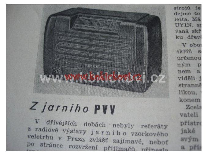RADIOAMATÉR ROČNÍK 26 - 1947 KOMPLET 12 ČÍSEL