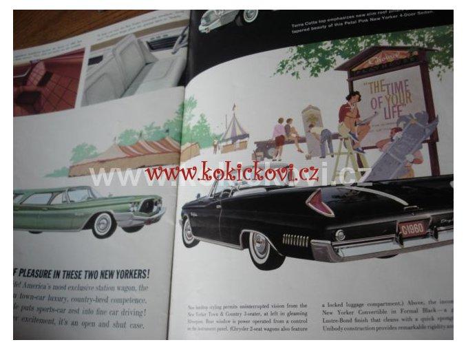 Chrysler Program modely Windsor, Saratoga a New Yorker 1959