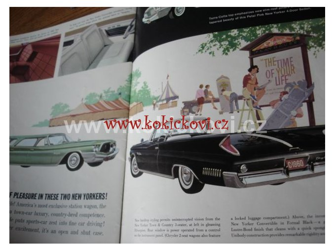 Chrysler Program modely Windsor, Saratoga a New Yorker 1959