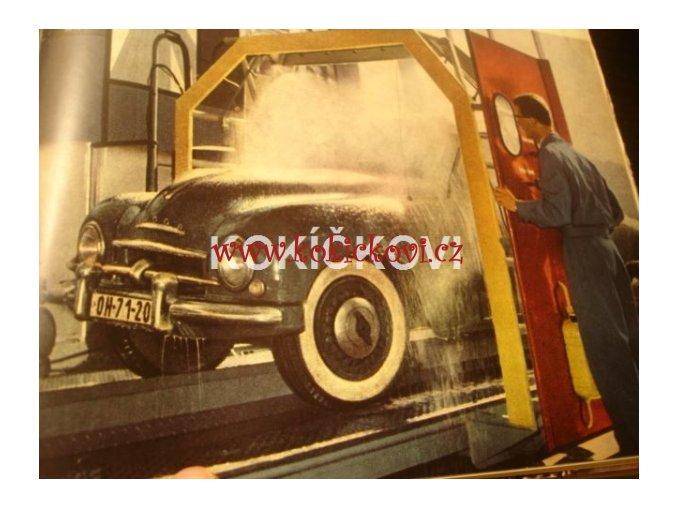 AUTOMOBIL ROČNÍK 1965 -  uvnitř vzorník barev Škoda 1000