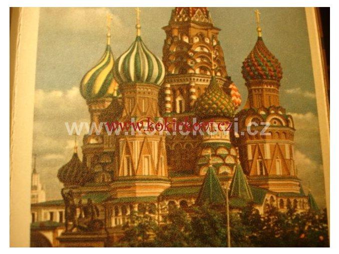 MOCKBA MOSCOW PRŮVODCE Z 50. LET ??????