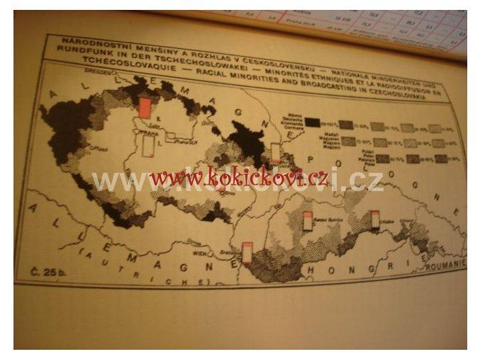 ROČENKA ČESKOSLOVENSKÉHO ROZHLASU 1938 RARITA