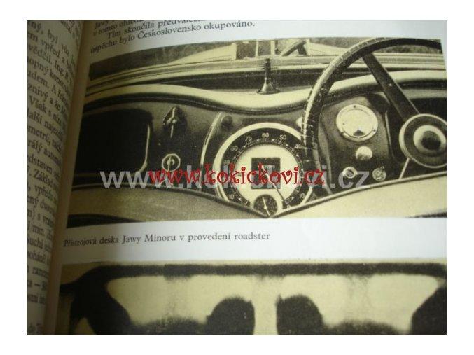 JAWA - DĚJINY AUTOMOBILKY 1989 AUTO ALBUM JAN KRÁLÍK