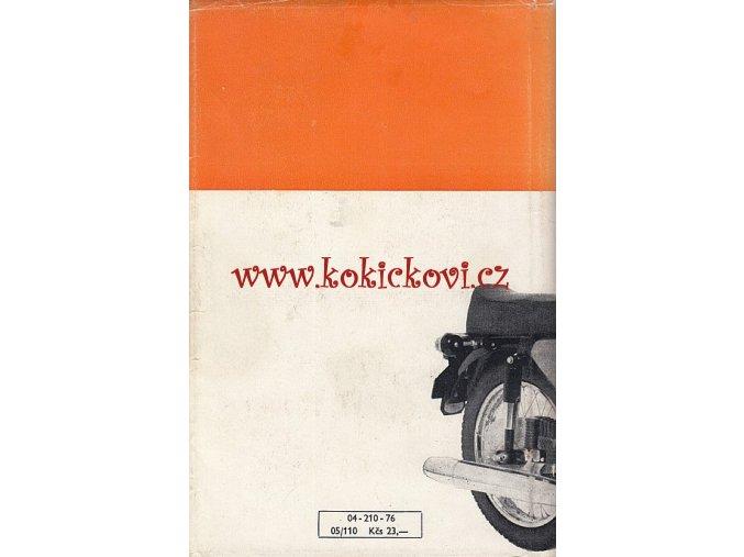 SEŘIZOVÁNÍ A OPRAVY MOTOCYKLŮ JAWA (DOČKAL) 1976