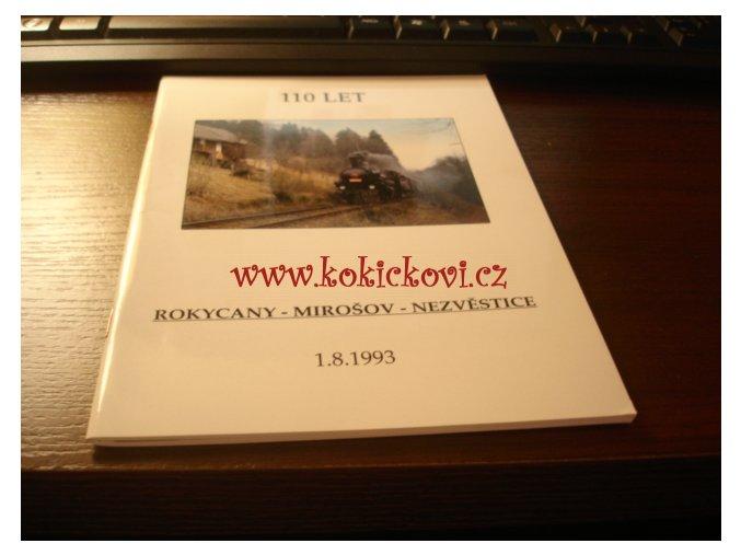 110 let trati Rokycany - Mirošov - Nezvěstice