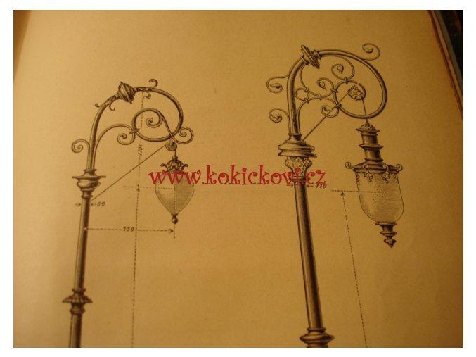 PRŮVODCE ELEKTROTECHNIKOU 1896 PŘÍSTROJE SVĚTLA ŽÁROVNICE LAMPY - MAJETNICKÉ RAZÍTKO ŘEDITELE NOVÁKA