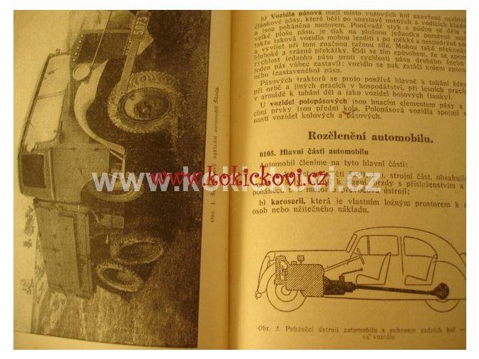 RUKOVĚŤ PRO ŘIDIČE MOTOROVÝCH VOZIDEL PRAHA 1951